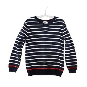 6 YEARS Okaïdi Knit V-Neck Sweater EUC